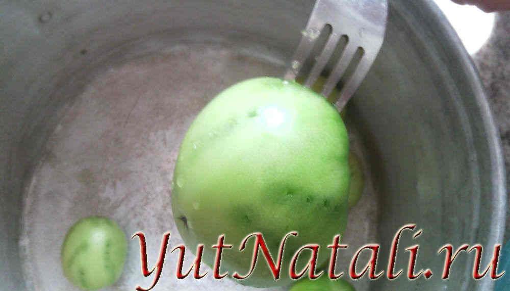 Помидоры зеленые армянчики рецепт с фото